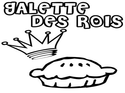 Galettes, couronnes et coloriages !