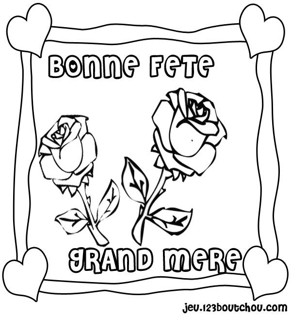 Coloriage Pour Fete Des Grand Mere.Actualite Vive La Fete Des Grands Meres Idees De Jeux D