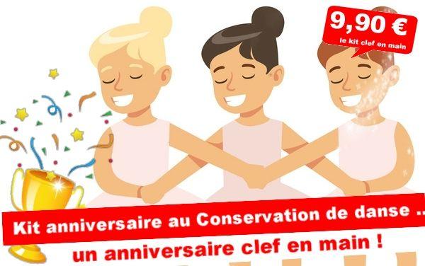 Kit anniversaire : Vol au conservatoire de danse ... (4/7 ans)