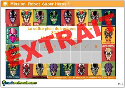 Kit anniversaire robot super h ros 8 12 ans mobile version - Kit anniversaire super heros ...