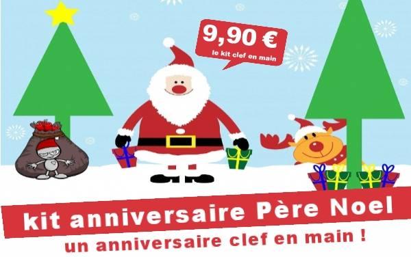 Kit anniversaire de Noel : Le père Noel et la zizanie des cadeaux ... (4/7 ans)