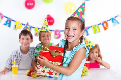 anniversaire pour les filles