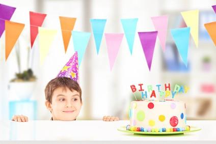 anniversaire pour les garçons