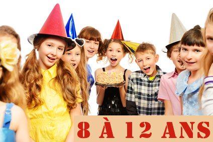 Kits anniversaires 8 / 12 ans @
