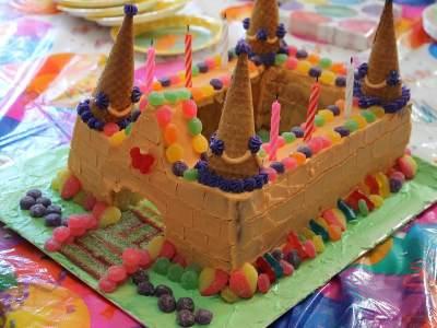 gateau d anniversaire chateau
