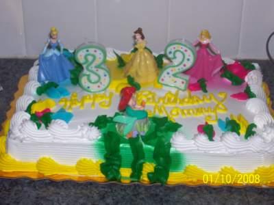 gateau d anniversaire princesse